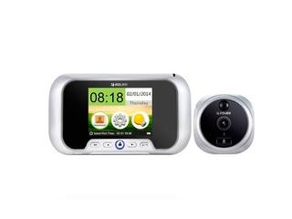 EQUES-R01PH видеоглазок с монитором, звонком, ИК подсветкой, детектором движения