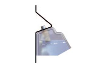 Крепление для хранения заправочной муфты на колонке (Staubli CMV 08.9000/30, Франция)