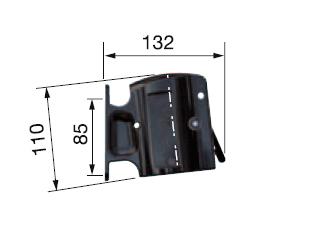 Крепление для хранения заправочной муфты на колонке (Staubli N00744600, Франция)