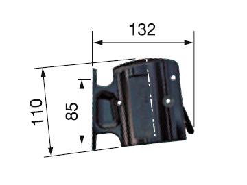 Крепление для хранения заправочной муфты на колонке (Staubli N00635014, Франция)