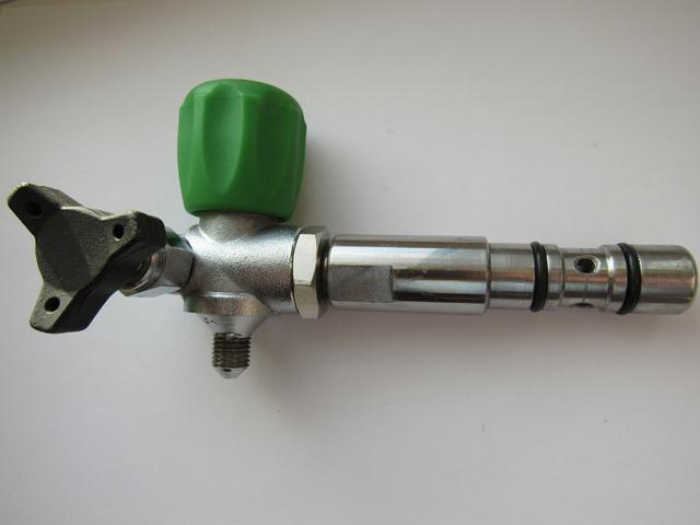 Заправочный кран высокого давления для метана