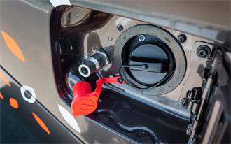 Lada Vesta CNG 9 - Чертежи переходника для заправки природным газом