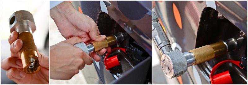 pzi m1 ikar - Чертежи переходника для заправки природным газом